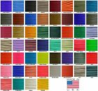550 Paracord Parachute Cord Solid Colors 100ft Hanks USA Made
