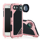 R-JUST Aluminum Heavy Shockproof Metal +3 LENS Case Cover For iPhone 6 6s 7 Plus