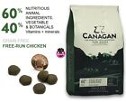 Canagan Natural Adult Grain Free Dog Food. Free Run Chicken in 2kg 6kg 12kg bags