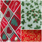 Christmas Fabric FAT QUARTER Festive Designs-Solids 100% Cotton