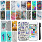 For Apple iPod Touch 5 5th/ 6 6th Gen Art Design Hard Case Back Cover + Pen