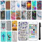 For Apple iPod Touch 5 5th/ 6 6th Gen HARD Protector Back Case Phone Cover + PEN