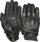 Weise Daytona Ladies Black Leather Short Sport Motorcycle Gloves RRP £74.99!!!