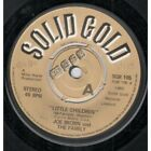 """JOE BROWN AND THE FAMILY Little Children 7"""" VINYL B/W Cooky And Lila (Sgr105)"""