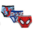Marvel Boys 3 Pack Spiderman Underwear - Toddler