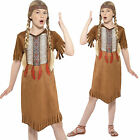 Girls Native Indian Fancy Dress Costume Age 4-6 7-9 10-12 years Smiffys New