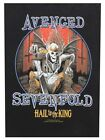 Avenged Sevenfold Hail To The King Back Black A7X Patch
