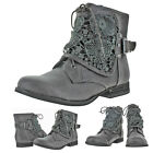 Not Rated Naughty Monkey Crunchiness Women's Buckle Ankle Booties Boot