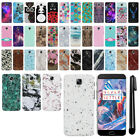 For OnePlus 3 3T Three Design PATTERN HARD Protector Back Case Phone Cover + Pen