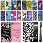 For Sony Xperia Z5 5.2 inch PATTERN HARD Protector Back Case Phone Cover + Pen