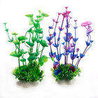 Artificial Water Aquatic Grass Plant Aquarium Plastic Fish Tank Landscape Decor