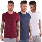 Kangol Mens Tee T-Shirt Top Casual Short Sleeves Crew Neck Chest Pocket S-XXL