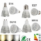 LED Bulb Spotlight 9W 12W 15W Dimmable MR16 GU10 E27 E14 Ultra Bright CREE Light