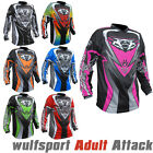 Wulfsport 2017 Attack Kids Cub Race Motocross Motorbike Shirt Jersey Full Colors