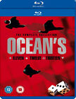 oceans 11 -- oceans 12 -- oceans 13 - trilogy box set NEW BLU-RAY (1000090002)