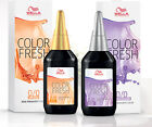 Wella Professional Colour Fresh 75ml Hair Colour Semi Permanent