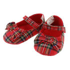 Baby and Infants Royal Stewart Tartan Shoe With Bow 0 months to 2 years