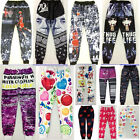 2015 New Emoji Joggers pants cartoon 3D sweatpants black & white jogging trouser