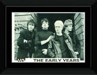U2 - The Early Years Framed and Mounted Print