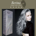 Berina A21 LIGHT GREY Professional Permanent Hair Color Cream Dye Style Unisex