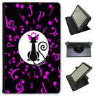 Musical Animals Universal Folio Leather Case For Amazon KindleTablets