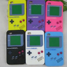 New 3D Game Boy Silicon Skin Back Case Cover for iPhone 4 4s 5 5s SE 6 6s 7 Plus