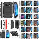 For Samsung Galaxy J1 J120 Holster Clip Stand Dual Hybrid Armor Protective Case