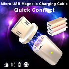 Micro USB Magnetic Adapter Charger Cable Metal For Android Phone Samsung LG Pad