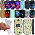 For LG Revere 3 VN170 Envoy 3 UN170 L237C PATTERN Snap On HARD Case Cover + Pen