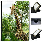 African Giraffe Universal Folio Leather Case For Most Tablets