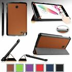 "Luxury Ultra Slim-Fit Smart Shell Cover Case Stand For LG G Pad F 8.0 8"" Tablet"