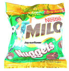Nestle milo nuggets chocolate flavoured confectionery snack new recipe 90 g.