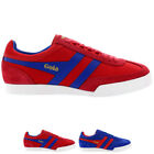 Mens Gola Harrier Super Suede Casual Low Top Retro Lace Up Sport Trainer UK 7-12