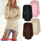 Womens Long Sleeve Sweater Ladies Sweatshirt Jumper Pullover Tops Blouse Winter