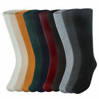 Crew High Socks Women Knitted Dress Breathable Warm Solid Cotton Slouch