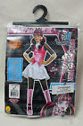 Monster High Scaris City Of Frights DRACULAURA Girl Child Costume W/ Wig
