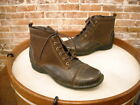 Clarks Brown Leather & Suede Whistle Watch Ankle Boots NEW