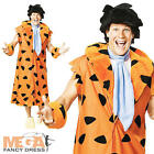 Fred Flintstones + Wig Deluxe Men's Fancy Dress TV Cartoon Flintstone Costume