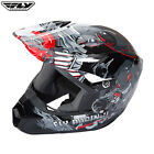 Fly 2017 Kinetic Invazion Motocross Quad Kids Childrens Youth Helmet Grey