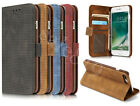 Luxury Magnetic Wallet Flip Lether Card Holder Stand Case Cover For Cell Phones
