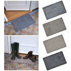 Absorbent Barrier Floor Door Mat Cotton Blend Non-Slip Rubber Backing 70x45cm