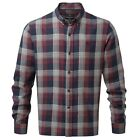 Henri Lloyd Newberry Regular Fit Check Long Sleeve Shirt Navy Various Sizes