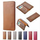 Floveme Real Leather Wallet Phone Case Universal Purse Cover for iPhone 7 Huawei