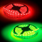 3M GREEN OR RED LED TAPE KIT SELF ADHESIVE STICKY IP65 POWER SUPPLY INCLUDED NEW