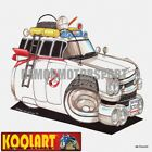 Koolart Cartoon 1959 Cadillac Ghostbusters Car Ecto1 - Mens Gifts (2081)