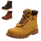 PAS Fashion Men's Casual Suede Warm Work High Top Leather Martin Boots Shoes