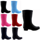 Unisex Kids Winter Snow Waterproof Wellington Muck Yard Rain Welly Boots UK 9-6
