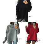 Cotton Women's Girl's Hoodie Sweater Scarves Collar Casual Long-sleeved Shirt