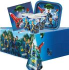 THUNDERBIRDS Party Pack {Tablecover/Cups/Plates/Napkins} (Birthday/Space)