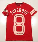 Superdry Men's Indian Red Short Sleeve Graphic T-Shirt